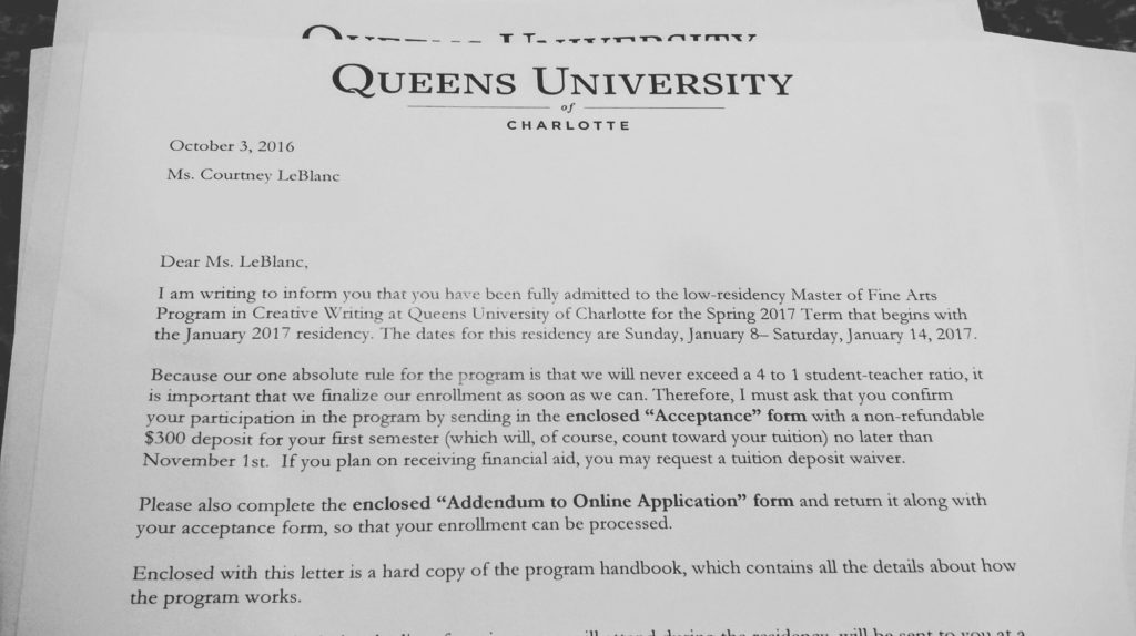 Accepted!